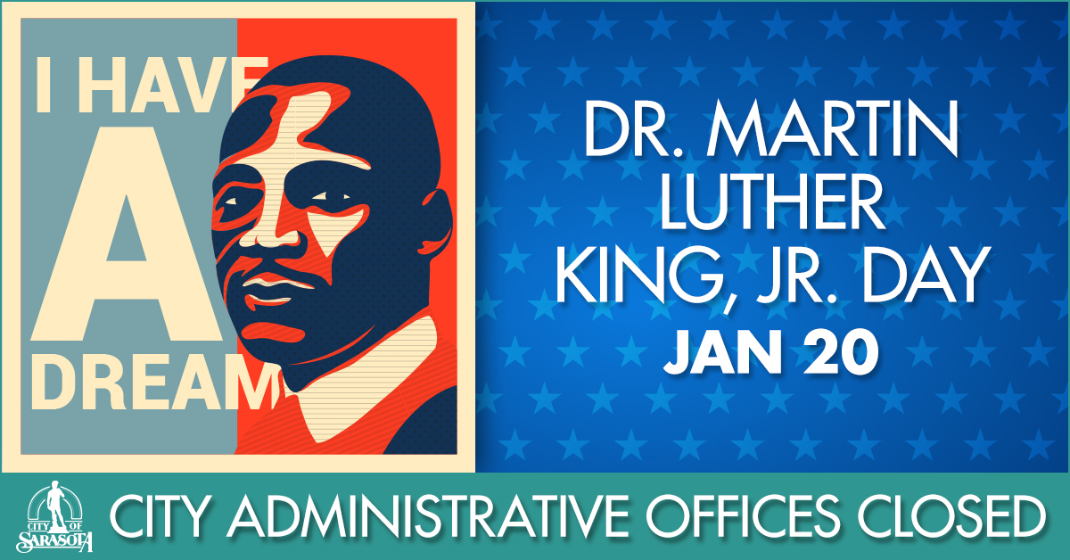City Hall to observe Martin Luther King Jr. Day holiday